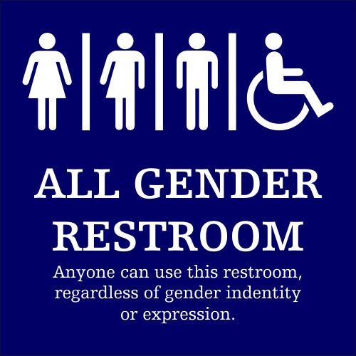 17 Best Ideas About Gender Neutral Bathroom Signs On Pinterest Gender Neutral Bathrooms