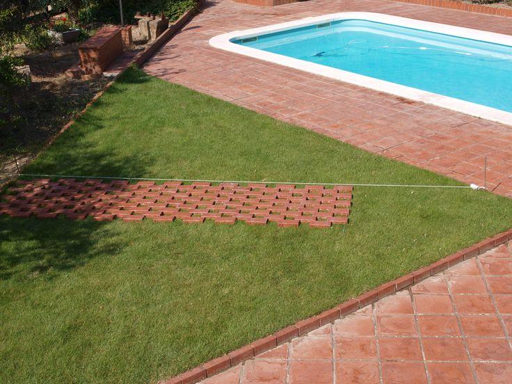 17 best images about sarrablo colom cal mestre sant - Revetement sol plage piscine ...