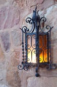 You can create fantastic atmosherpheres with external wall lamps.