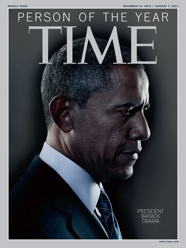 Time names Barack Obama 'Person of the Year' for 2012