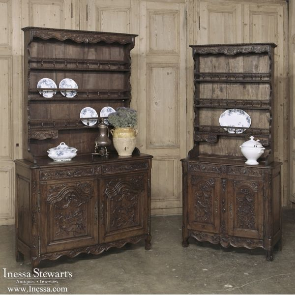 Antique Country French Furniture | Antique Buffets and Sideboards |  Vaisseliers | 18th Century French Vaisselier - 671 Best French Country Antiques Images On Pinterest Antique