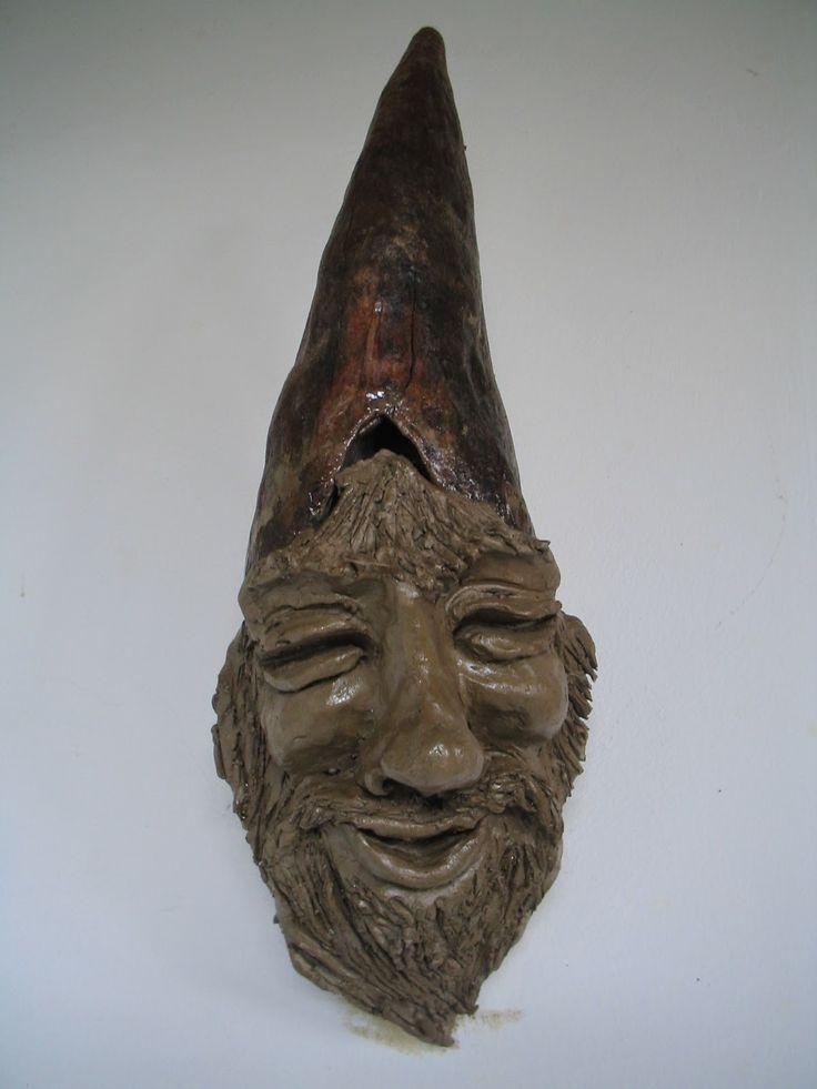 Artesanato Opa's Haus: Escultura em argila do Opa's haus