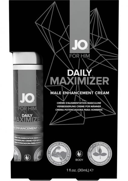 JO Daily Maximizer is a topical cream designed to enhance the presence of the…