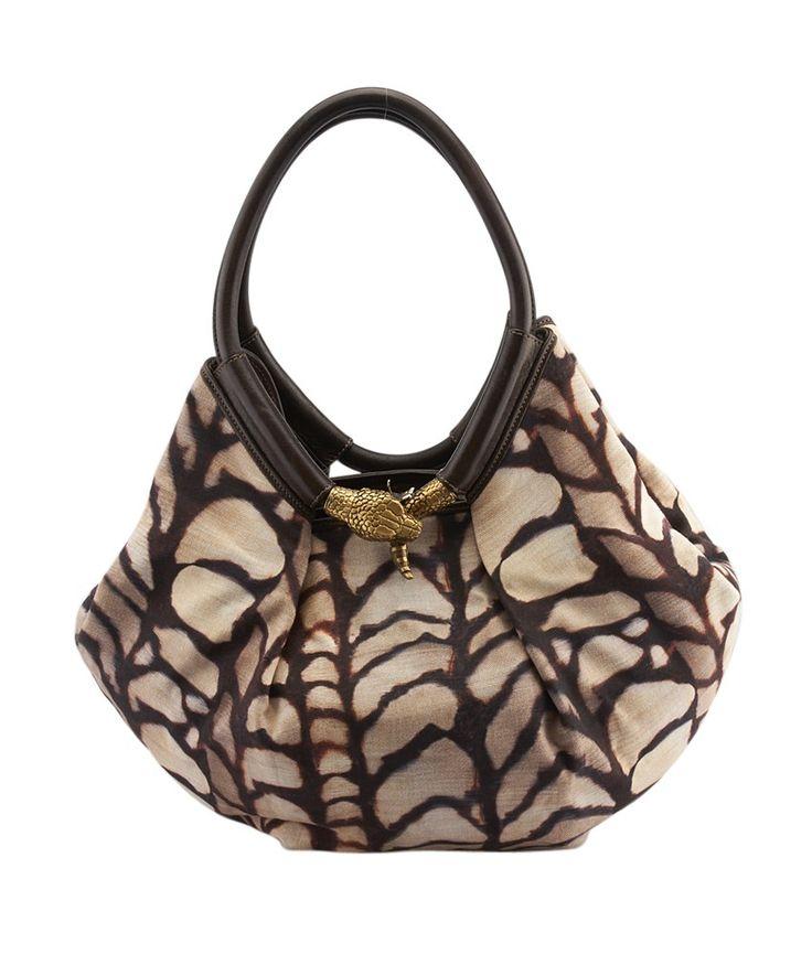 Image result for jimmy choo leopard print handbag brass snake closure