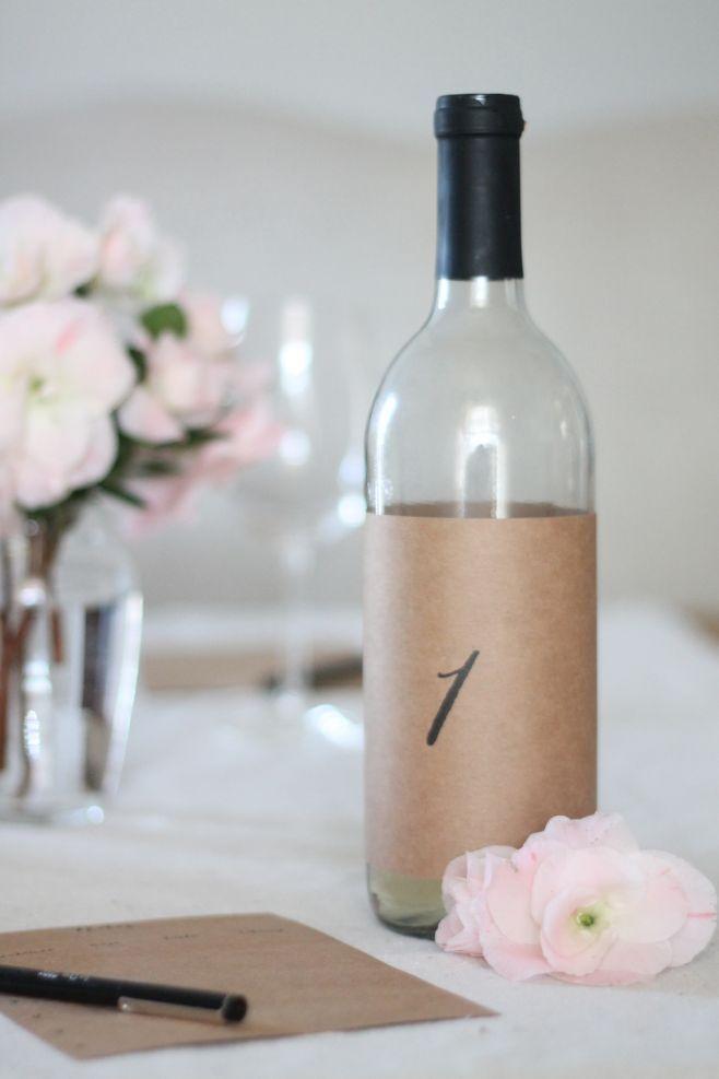 free printable bottle covers & wine tasting notes to host an effortless wine tasting party via julieblanner.com