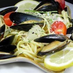 Mussels Mariniere.