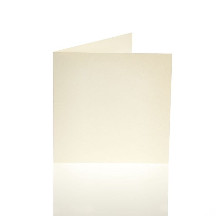 Hobbycraft Hammered Blank Cards And Envelopes In Ivory 50 Pack 6 X 6 In | Hobbycraft