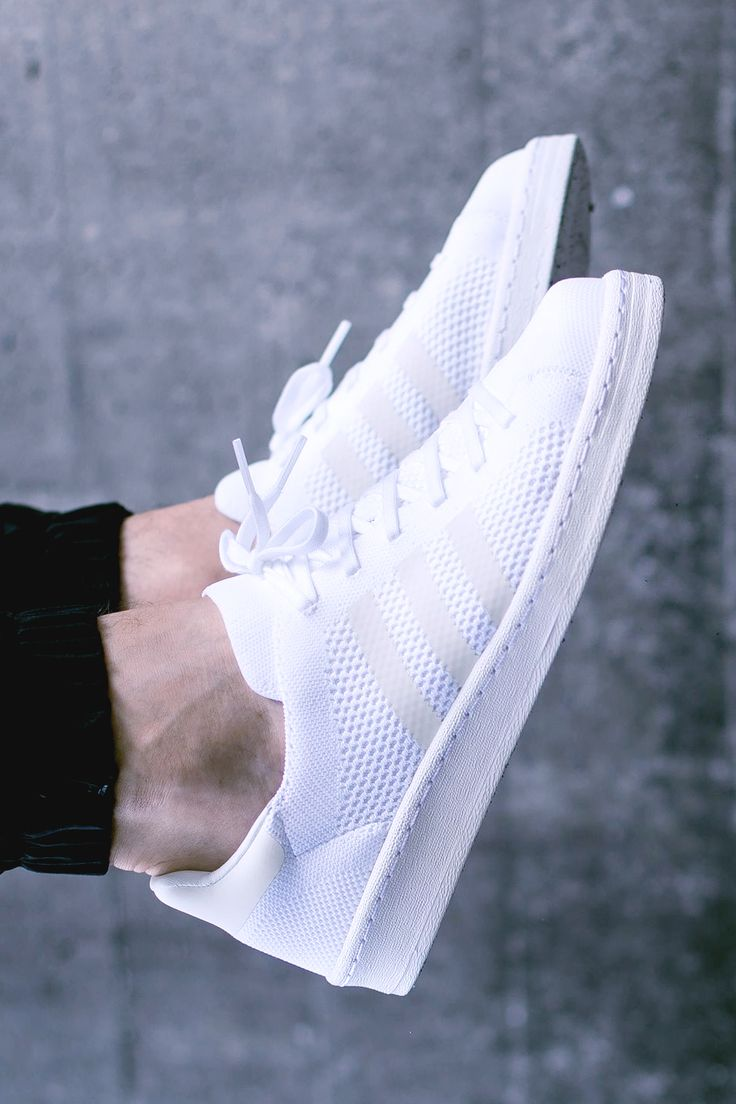 adidas Campus 80s Primeknit 'White' (via Kicks-daily.com)