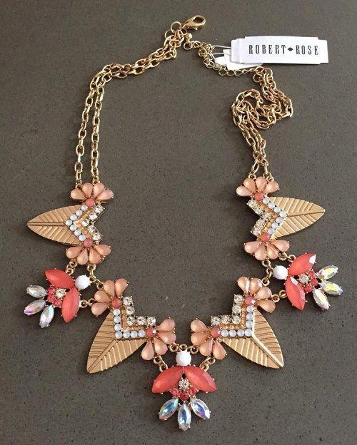 Robert Rose necklace