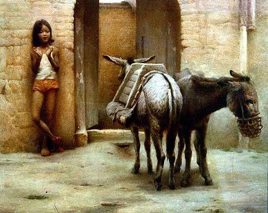 'The donkeys by Yuqi Wang, NYC, NY, USA