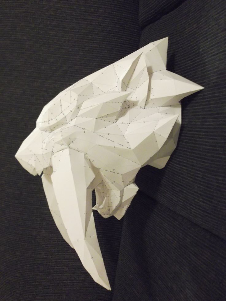 Barioth Real Head Mount | Papercrafts | Pinterest | Cat ...