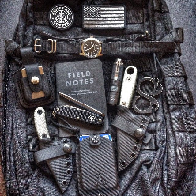 """I'll take everything minutes the gay af """"knives and coffee"""" patch"""