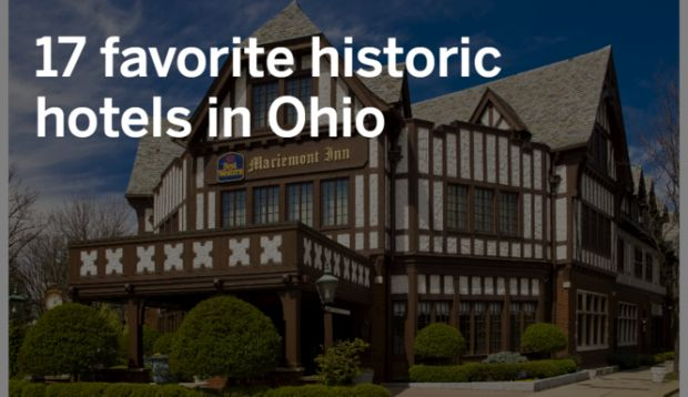 In honor of Cleveland's new Kimpton Schofield Hotel, we've put together a list of our favorite historic hotels in Ohio.