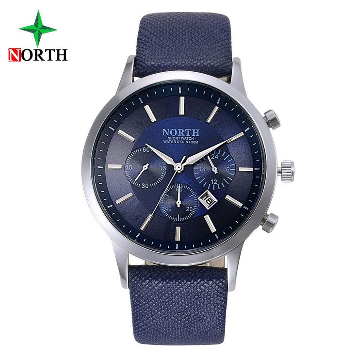 FASHION MEN QUARTZ WATCH - Waterproof Genuine Leather