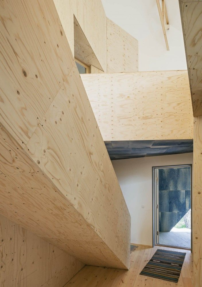 16 best plywood stairs images on pinterest