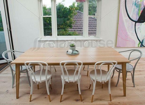 Jutland Solid Oak Dining Table, Dining Tables