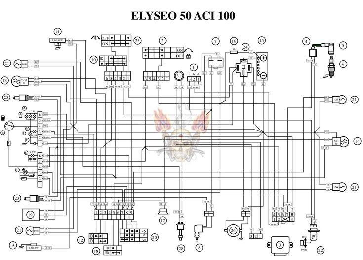 Peugeot Elyseo 50 Wiring Diagram Circuit Wiring Diagrams Light Switch Wiring Diagram Light