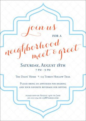 the  best ideas about block party invites on, invitation samples