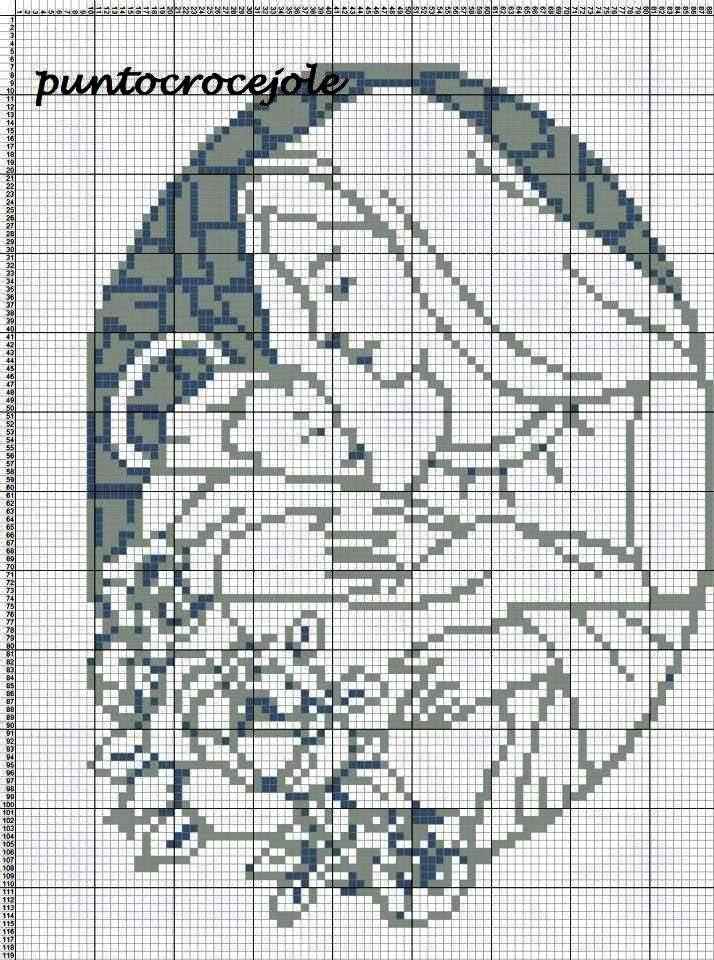 Cross Stitch *<3* Point de croix Christmas Ponto Cruz da Rê