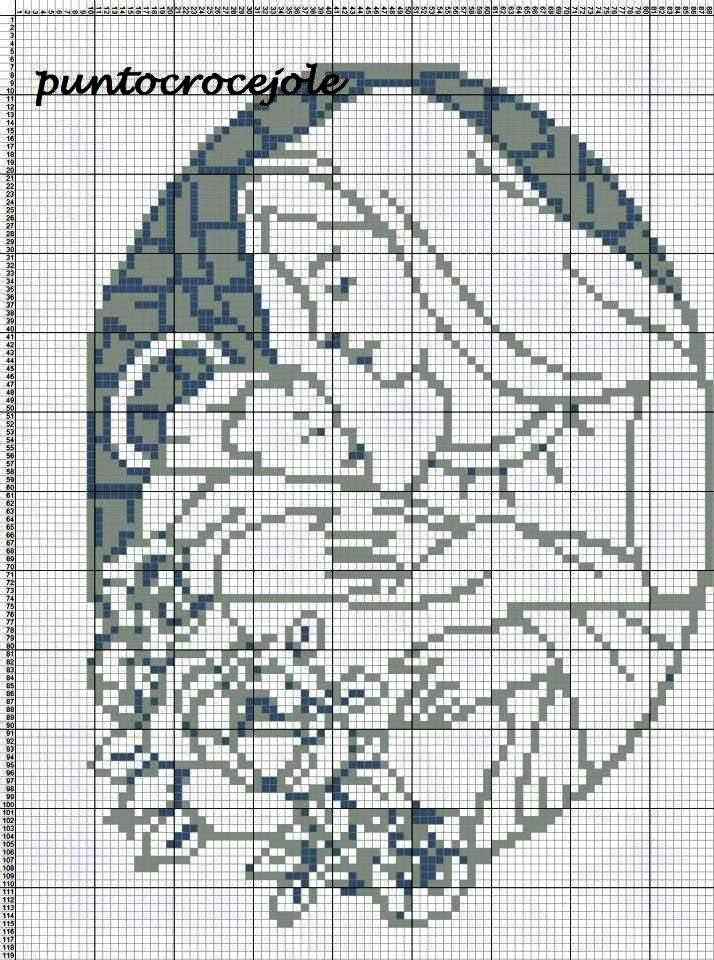 Cross Stitch *<3* Point de croix Christmas Ponto Cruz da Rê