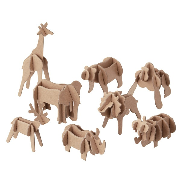 press out animals by muji.com