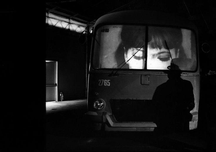 Fabio Mauri. Fermata d'autobus, 1995 foto di Elisabetta Catalano