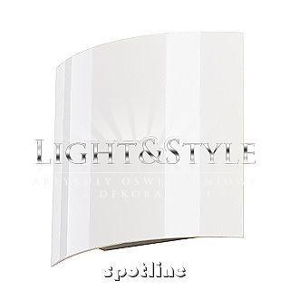 Spotline Kinkiet SAIL WL 1, biała, 1x3W LED, ciepłe białe 151601