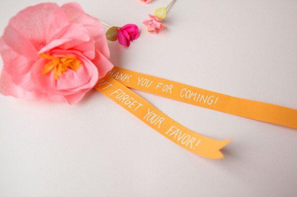 Diy: un dulce agradecimiento - Una Boda Original - Blog de bodas e ideas para una boda original