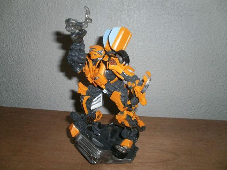 "2006 Hasbro Transformers Bumblebee Unleashed Plastic Figurine 9"" #Hasbro"