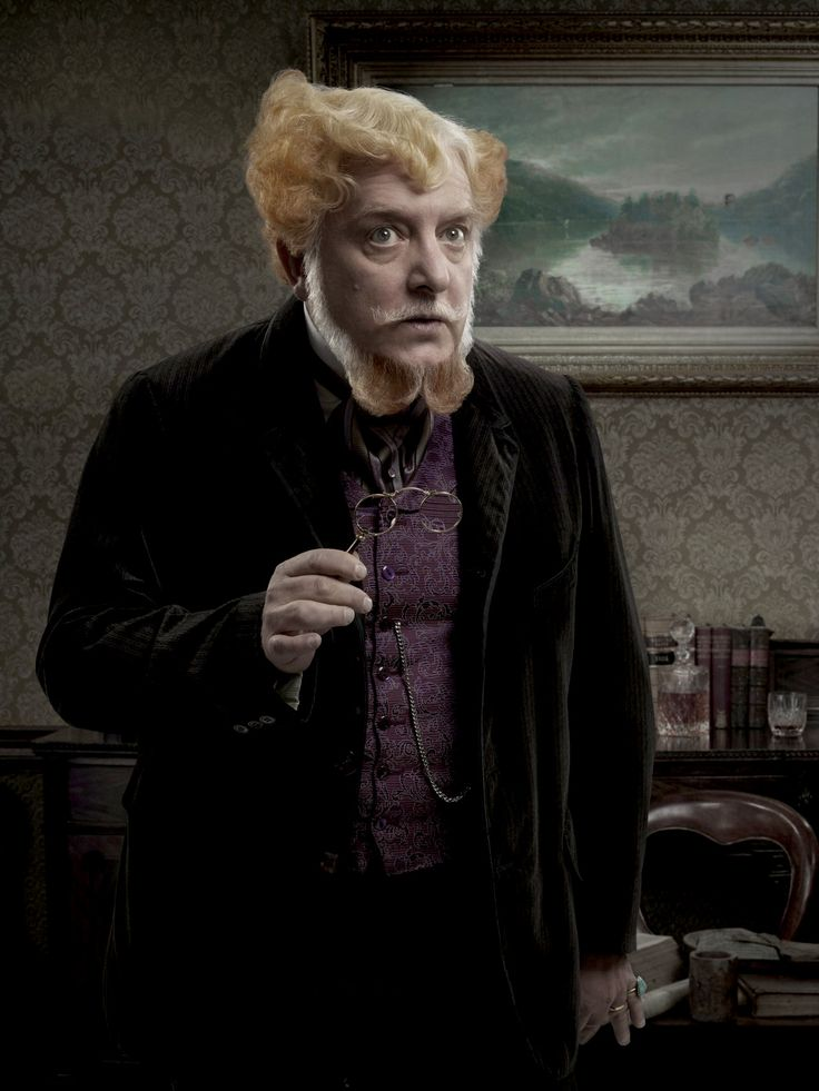 """""""Penny Dreadful"""" cast I think he should host the Oscar's with Cesar Flickerman in character."""