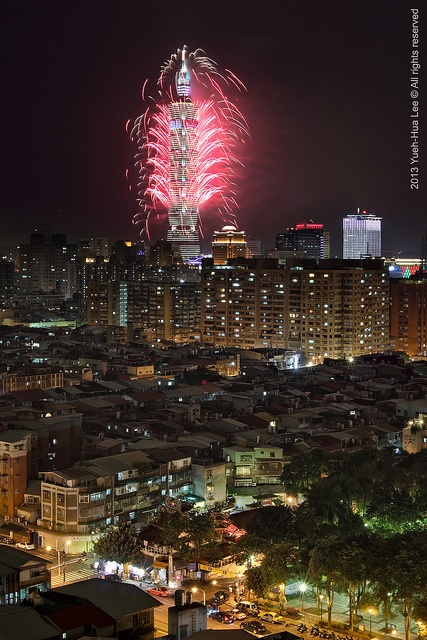 Happy New Year 2013 & Taipei 101 Fireworks