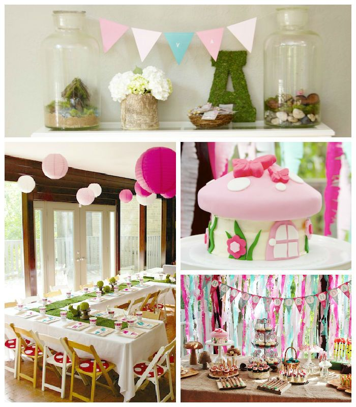 Pixie Hollow + Woodland Fairy Birthday Party via Kara's Party Ideas | KarasPartyIdeas.com (2)