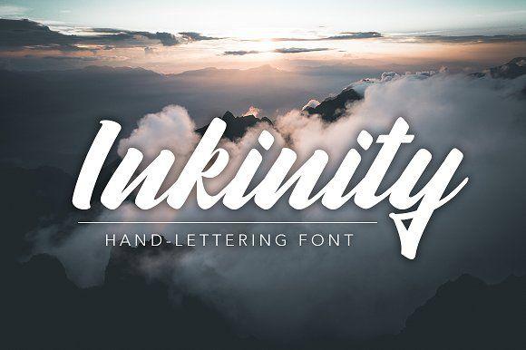 Inkinity | Hand-lettering Font by Angelo Konofaos on @creativemarket