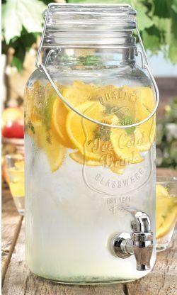 Del Sol Ice Cold Bail&trig Jug - http://www.teaandcoffeemaker.com/iced-tea-pitchers/del-sol-ice-cold-bailtrig-jug/