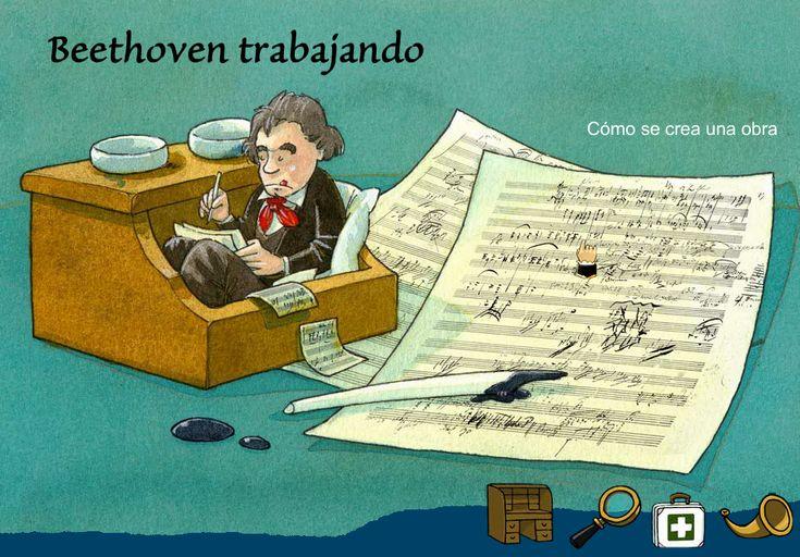 """""""Beethoven para niños"""" Impresionante página web - Clase de Música 2.0"""