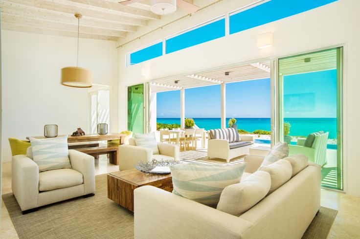 The gorgeous view from our finished Reef 3 #Villa Great Room! Want to live in #luxury? Visit http://www.sailrocksouthcaicos.com/real-estate/villas!