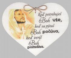 Drevené srdce: Keď potrebuješ Boh vie... - F8665