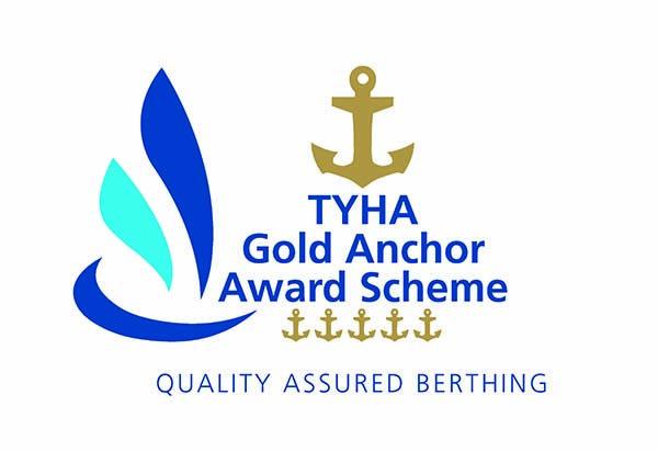 tyha gold anchor award scheme, riconoscimento ancore d'oro, porti e marina turistici, marine, berthing