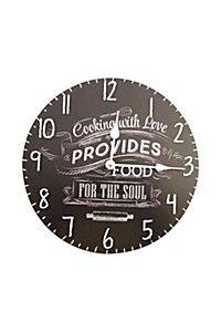 CHALKBOARD SCRIPT WALL CLOCK http://www.mrphome.com/en_za/jump/HOMEWARE/Chalkboard-Script-Wall-Clock/productDetail/2_7404010629/cat860009/general #mrpyourhome,