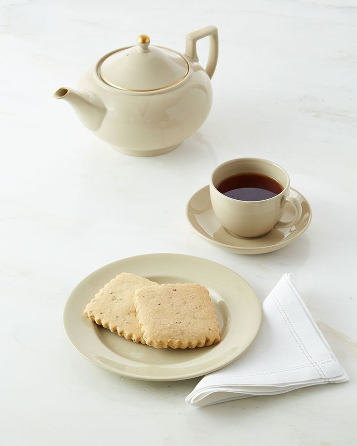 These sweet and nutty shortbread cookies would be perfect with an afternoon cup of tea. Martha made this recipe on Martha Bakes episode 607.