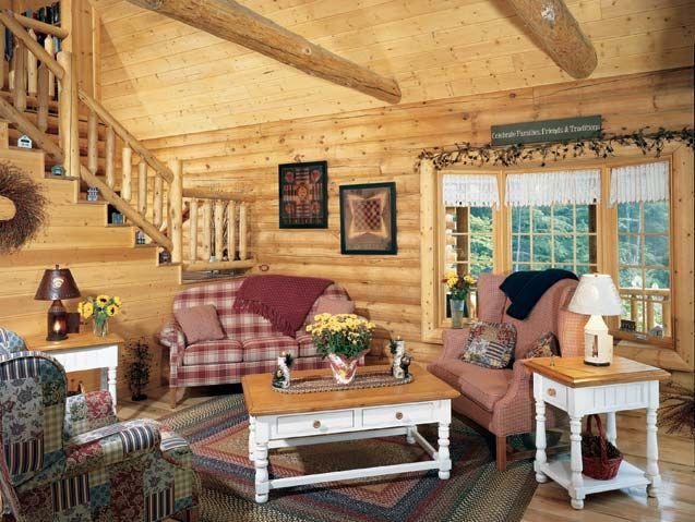 35 best To Furnish a Log Home images on Pinterest | Log homes, Log ...