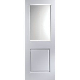 Order online at Screwfix.com. Light clear glazed interior door with clean, minimal, contemporary lines to enhance both modern and traditional interiors. Supplied unfinished with a base coat primer for your choice of paint or stain. FREE next day delivery available, free collection in 5 minutes.