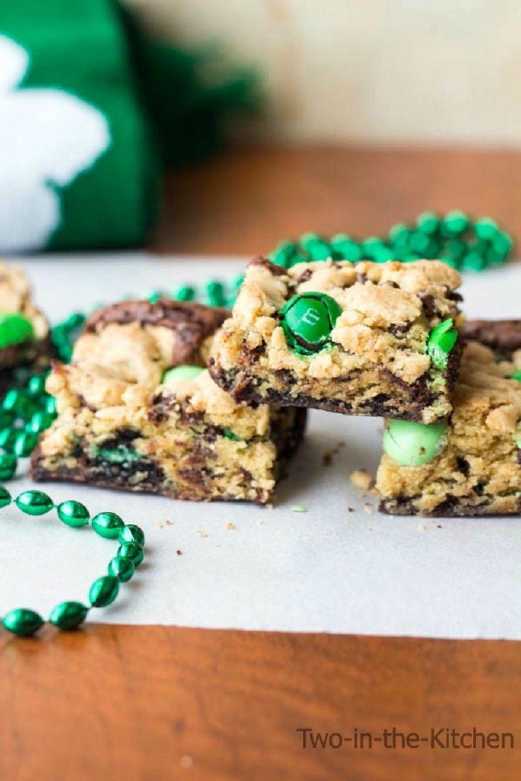St. Patrick's Day Mint Brookies - 17 Coolest St. Patrick's Day Treats