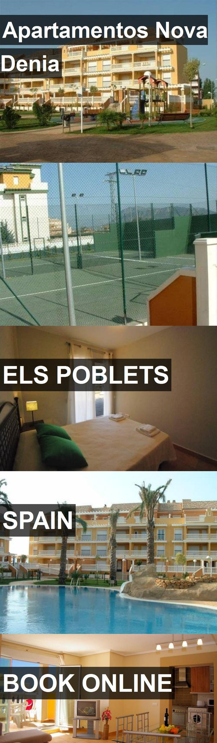 Hotel Apartamentos Nova Denia in Els Poblets, Spain. For more information, photos, reviews and best prices please follow the link. #Spain #ElsPoblets #travel #vacation #hotel