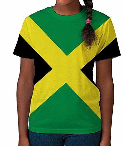 0bd775be3 Kid's T Shirt All Over Print Jamaican Flag Girls Summer C…   JP in 2019    Girls summer outfits, Summer girls, Shirts