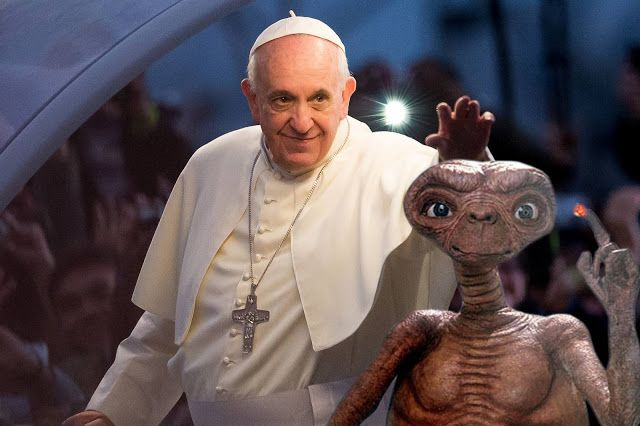 AWAKENING FOR ALL: Is the Pope About to Make an ET Disclosure at Worl...