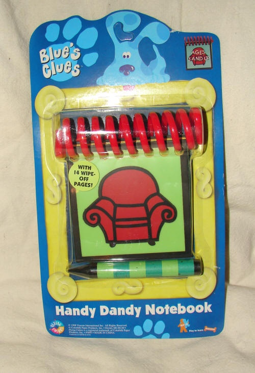 Blue Clues Notebooks From eBay | Original Blues Clues ...