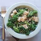 Try the Spicy Tofu, Rice and Broccolini Salad Recipe on williams-sonoma.com/
