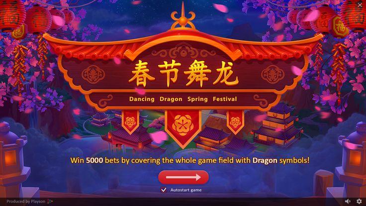 Dancing Dragon Spring Festival on Behance