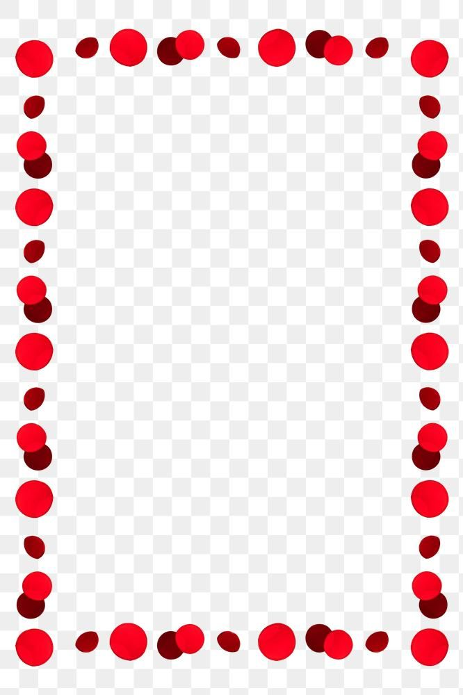 Red Dotted Frame Design Element Free Image By Rawpixel Com Keerati Design Element Frame Design Red Dots